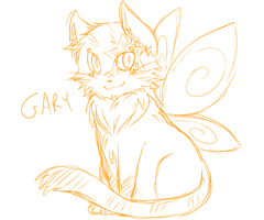 Gary the Flying Butterfly Cat by Prinnyex by SEMC