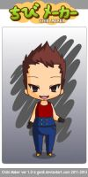 Chibi Dragon Ball GT Vegeta by SupernovaSword