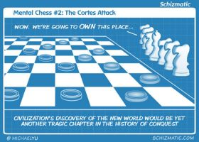 Mental Chess #2 The Cortes Attack by schizmatic