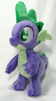 Spike Plush for FaeMcCloud. by Cryptic-Enigma