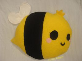 Queen Bee Pillow by NekoNaoko