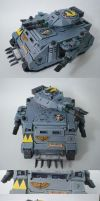 Space Wolves Predator Tank by Arastoru