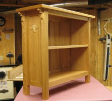Arts and Crafts Bookcase by 12GO