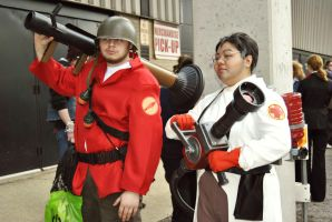 Tf2 cosplay DFGD23423 by Rinkuchan27