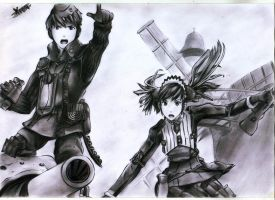 Valkyria Chronicles by XionCloudHeaven