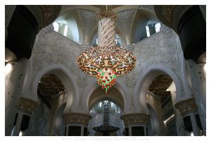 Zayed Mosque Chandelier 2 by Sultan-Almarzoogi