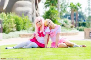 Relaxing by Saru-Cosplay