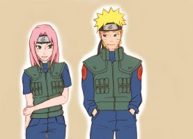 NaruSaku - Mission by RinaM
