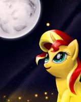 Sunset Shimmer by Fox-Moonglow