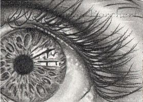 ACEO Eye by WitchiArt