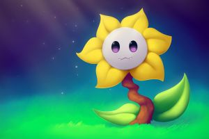 Flowey Paint Along with Tsaoshin by streetdragon95