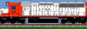 Lawrence Transport SD45 4880 by LDLAWRENCE