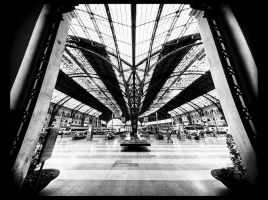 Barcelona train station by KYAV