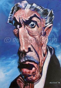 Vincent Price by RussCook