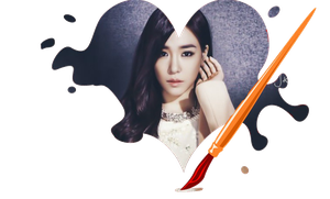 Girls Generation Tiffany -Manchita- *RENDER* by K-popx3