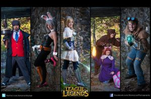League of Legends by TheZe