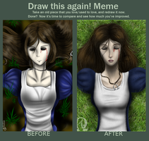 -Before and After Meme- by Nega-Lara