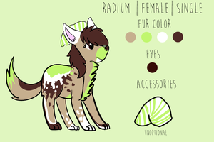 Radium Reference Sheet by Sno-Flakes