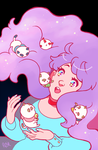bee and puppycat by myotishi