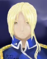 Elric-Taisa - Coloured finally by ChibiEdo