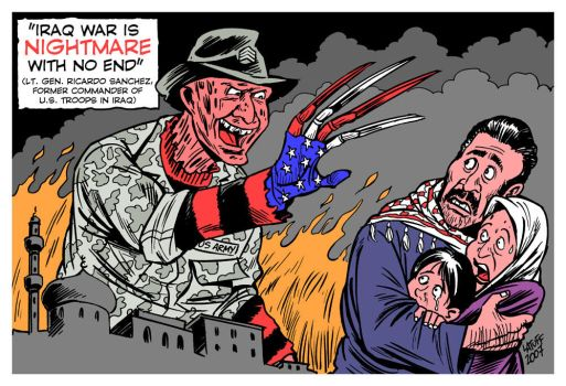 Iraq: Nightmare with no end by Latuff2
