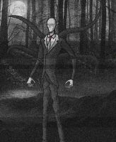 Slender man by 3000-fancazzista