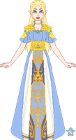 Princess Zelda ReDesign by StargazerSammie