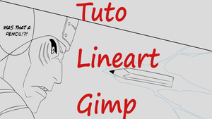 [Video] : Tuto Lineart With Gimp by Rollando35