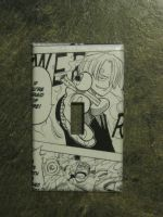 One Piece Sanji Light Switch by PlasticPixel