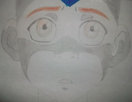 Aang from Avatar: The Last Airbender by PsychNcisLostLover