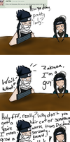 Question 1 - Quite embarrassing, yes. by AskZabuzaMomochi