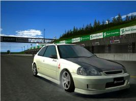 civic gt4 by deviantdon5869