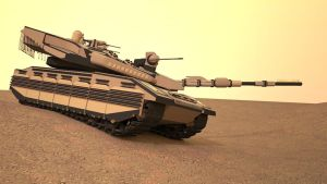 Advanced Merkava MBT by MrJumpManV4