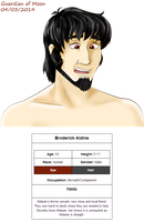 Profile: Broderick by guardian-of-moon