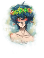 Flower Crown Dork by PrinceLameo