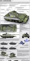 World of tanks design a tank contest entry by Darkheart1987
