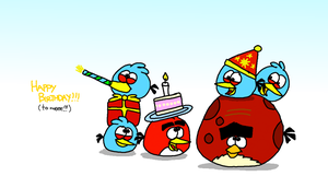 Happy Birthday!!! (to me!) by AngryBirdsStuff