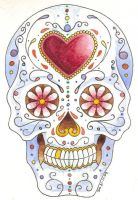 Sugar Skull by sapphy