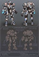 BlizzFest Contest Wip - Medic Armor Concept by tsabszy