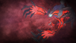 Wallpaper Y ~ Yveltal. by Mackaged