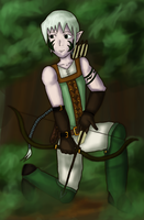 Forest Archer by fl00fy