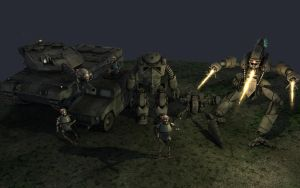 Armament Collage Mechs + Tanks by eRe4s3r