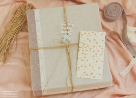 Fabric-Covered Birthday Present by whocaresme
