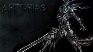 Knight Artorias, the Abysswalker by TheOneTheOnlyAlastar