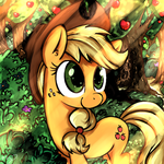 Applejack by MrPotat0wned