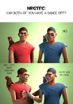 Ask CnD No. 220: Dance Off... Not Really by ZeFlyingMuppet