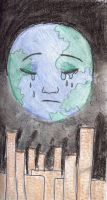 Death of earth by environment