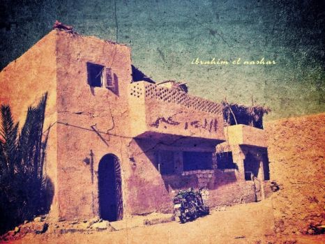 old house in siwa osis by ibrahimmaro