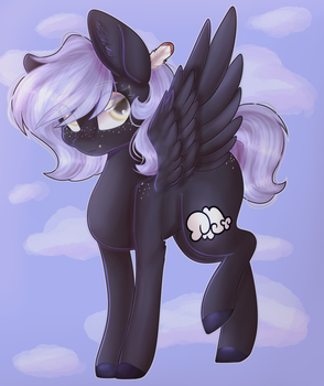 Lil' Cloudy [Open Collab] by VioletWinged22