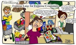 Express Lane for Extreme Couponers by PaperandPlastic